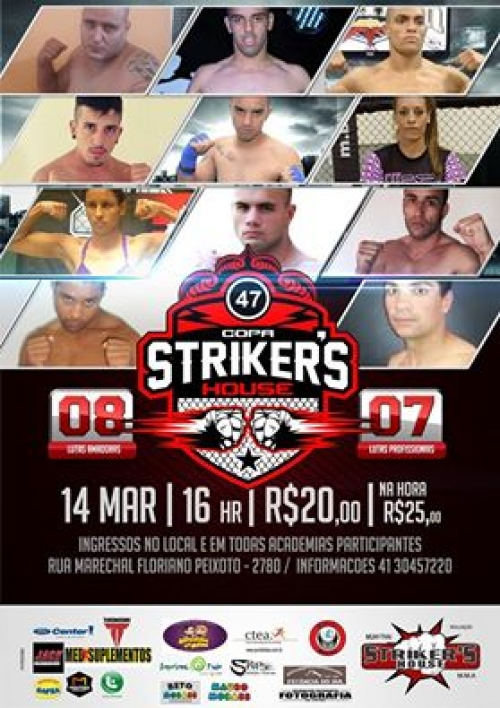 poster copa strikers house 47