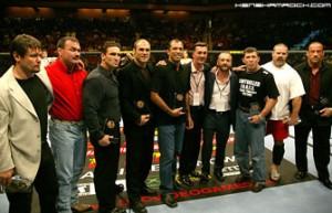 Membros do Hall da Fama do UFC (Foto: Reprodução)