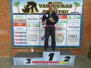Ultima competição disputada por Patrick, neste último final de semana, onde mais uma vez, sagrou-se campeão. Foto: Arquivo Pessoal
