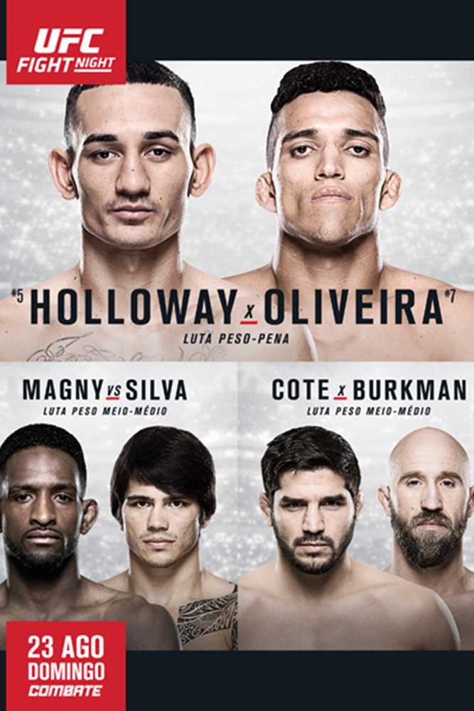 UFC Fight Night no Combate - Holloway x Do Bronx