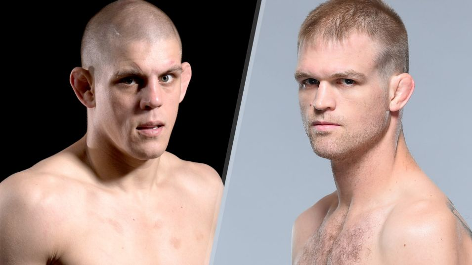 Os americanos Joe Lauzon e Evan Dunham. ( Foto: Fox Sports )