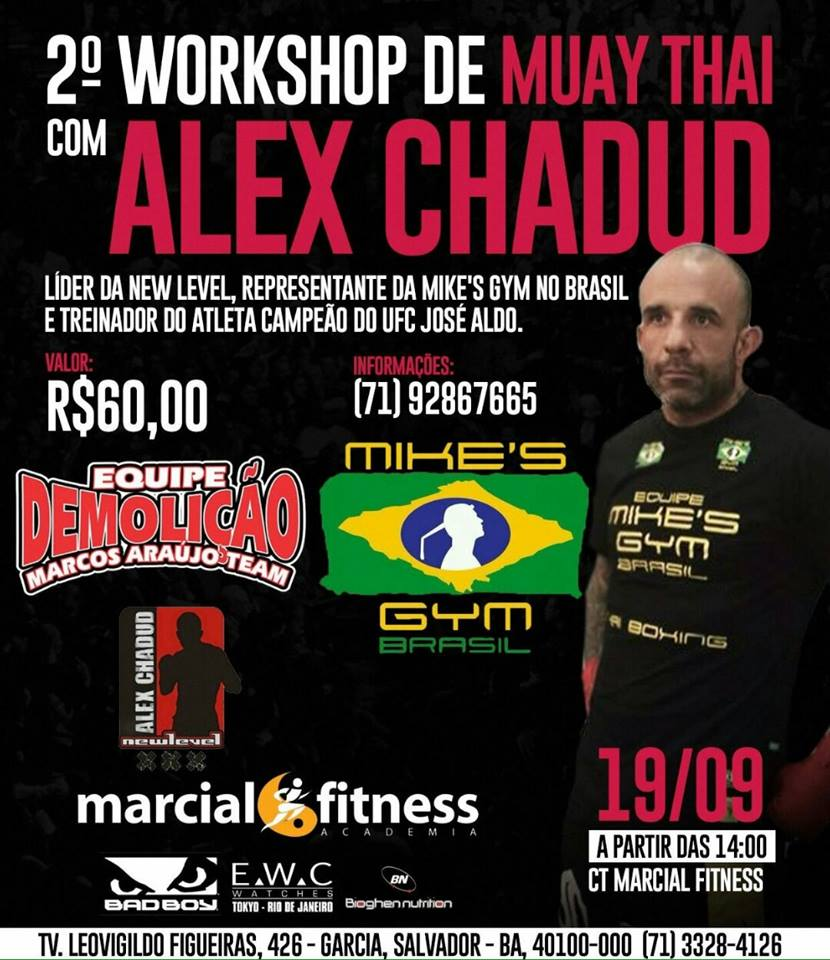 Workshop de Muay Thai