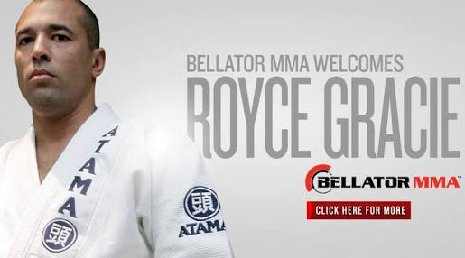 Royce Gracie oficial art work oficial by Bellator MMA.com