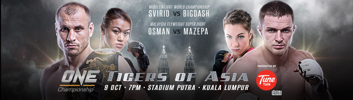 Tigers Of Asia. ( Foto: One FC promotions )