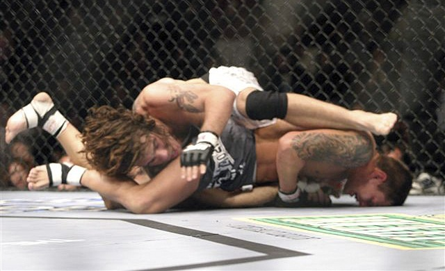 Estréia de Clay Guida no Ultimate. ( Foto: Sherdog )