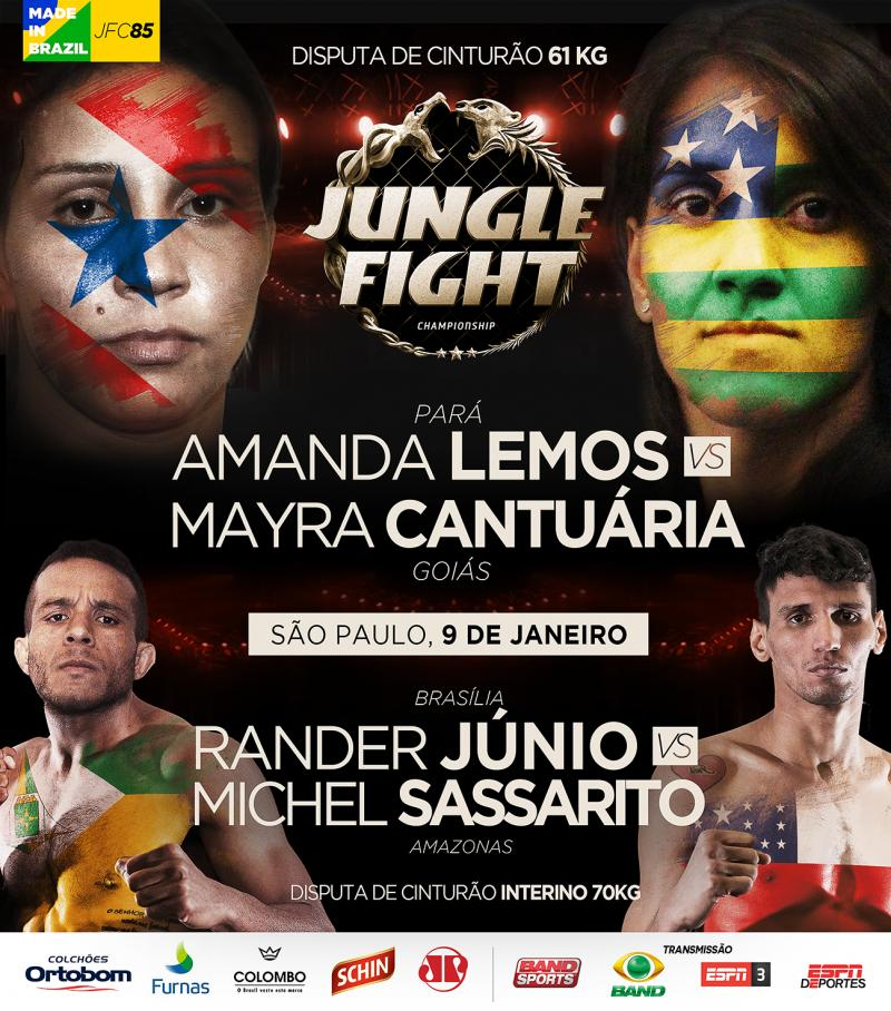 Jungle Fight 85 - Poster (Foto: Jungle Fight/Reprodução)