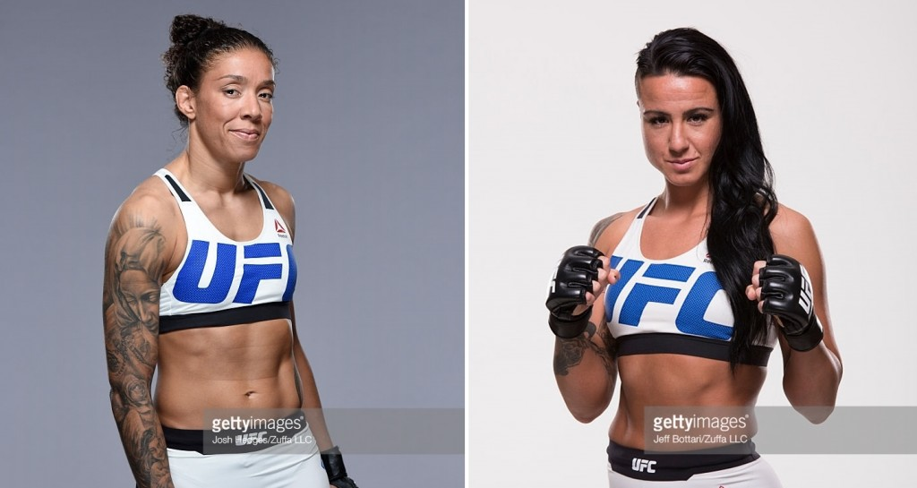 Germaine de Randamie (Esq) x Ashlee Evans-Smith (dir) confirmado para UFC Hamburgo